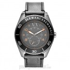 Đồng hồ nam Armani Exchange - Grey Leather 47mm