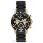 Đồng hồ nam/nữ Marc Jacobs - Rock Matte Gold Black Chrono 40mm