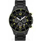 Đồng hồ nam Marc Jacobs - Black Rock IP Chrono / Black Dial 46mm