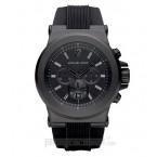 Đồng hồ nam Michael Kors - Silicone Black Chronograph 45mm