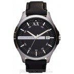 Đồng hồ nam Armani Exchange - Sleek Black Leather 46mm