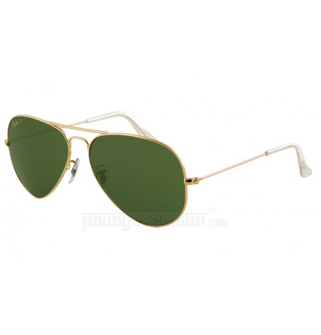 Kính mắt nam / nữ Ray-Ban - RB3025 001/58 Aviator Large Metal Polarized