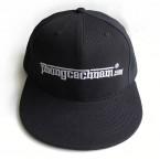 Mũ nón lưỡi trai hip hop - PhongCachNam logo - màu đen