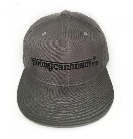 Mũ nón lưỡi trai hip hop - PhongCachNam logo - màu olive sậm