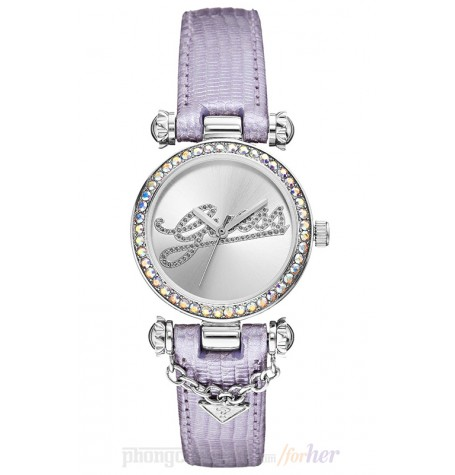 Đồng hồ nữ Guess - Analog Display Purple Watch 32mm