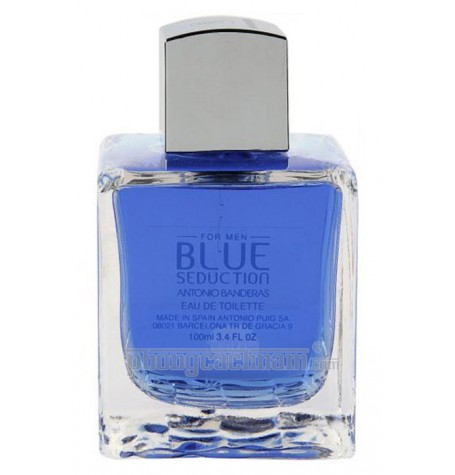 Nước hoa nam Antonio Banderas - BLUE SEDUCTION - eau de toilette (EDT) 100ml (3.4 oz)