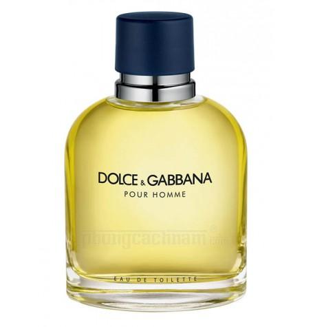 Nước hoa nam Dolce & Gabbana - POUR HOMME - eau de toilette (EDT) 125ml (4.2 oz)