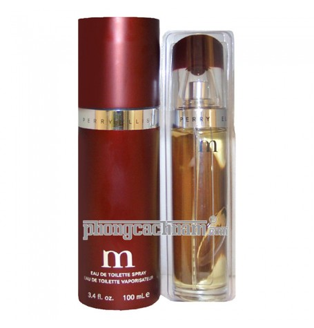 "Nước hoa nam Perry Ellis - ""M"" for men - eau de toilette (EDT) 100ml (3.4 oz)"