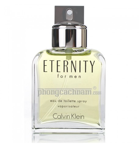 Nước hoa nam Calvin Klein - ETERNITY FOR MEN - eau de toilette (EDT) 100ml (3.4 oz)
