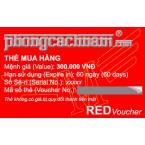 Thẻ mua hàng - RED Voucher 300.000 VNĐ