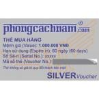 Thẻ mua hàng - SILVER Voucher 1.000.000 VNĐ
