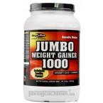 Mega Pro - Jumbo Weight Gainer 1000 Vanilla 1,8Kg – Thức uống hỗ trợ tăng cân hương vani