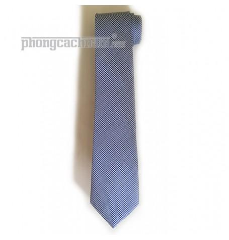 """Cà vạt bản trung (8cm) - PhongCachNam """"Brighter Day"""" màu xanh da trời"""