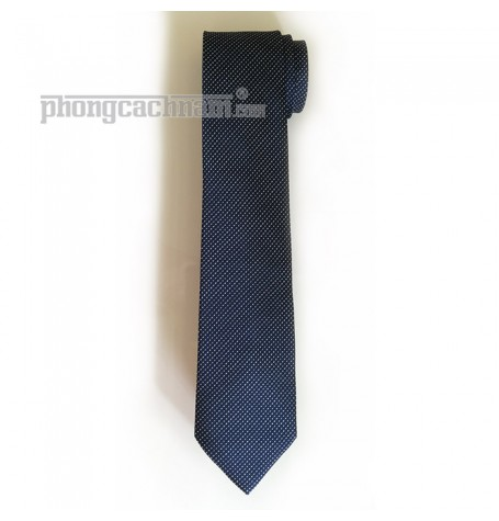 """Cà vạt bản trung (8cm) - Marco Cannavaro """"Craft Master"""" Blue"""