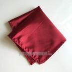 """Khăn túi áo vest - Pocket Square - PhongCachNam """"Fashionista"""" 22cm x 22cm màu đỏ sẫm"""