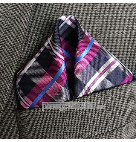 "Khăn túi áo vest - Pocket Square - Marco Cannavaro ""Modern Square"" 30cm x 30cm"