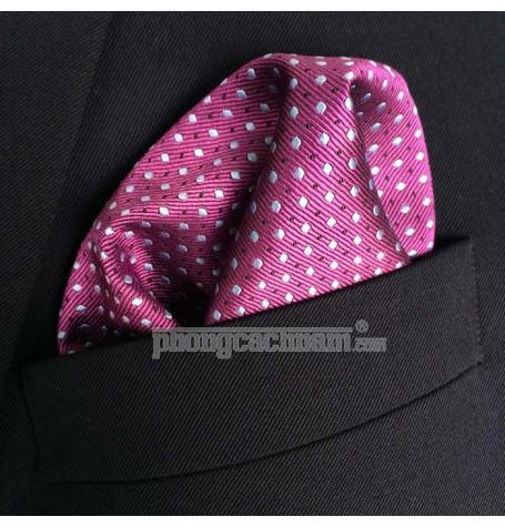"Khăn túi áo vest - Pocket Square - PhongCachNam ""Silent Expression"" 30cm x 30cm"