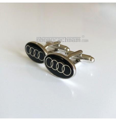 """Khuy cài măng sét - Cufflinks - PhongCachNam """"Audi"""""""